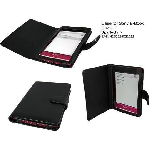 Spartechnik - Funda para libro electrónico Sony PRS-T1, color negro