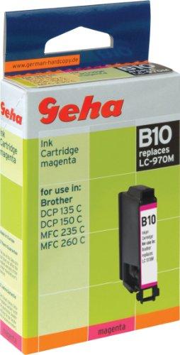 Geha Tintenpatrone für Brother ersetzt Nr. LC 970M magenta
