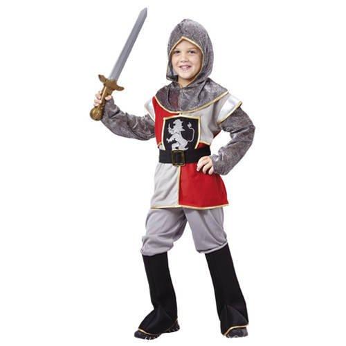 KBO82126 Kinder-Kostüm Sir Templeton, 4-6 (Kleine Krieger Kostüm Edle)