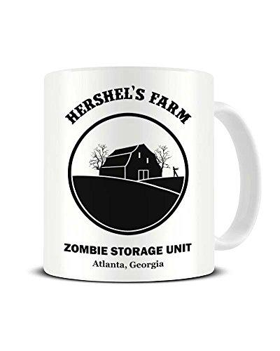 's Farm Zombie Aufbewahrungseinheit - The Walking Dead - Keramik Kaffeetasse - Teetasse - tolle Geschenkidee ()