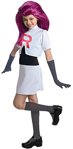 Pokmon Jessie Team Rocket Dress Costume Child Large