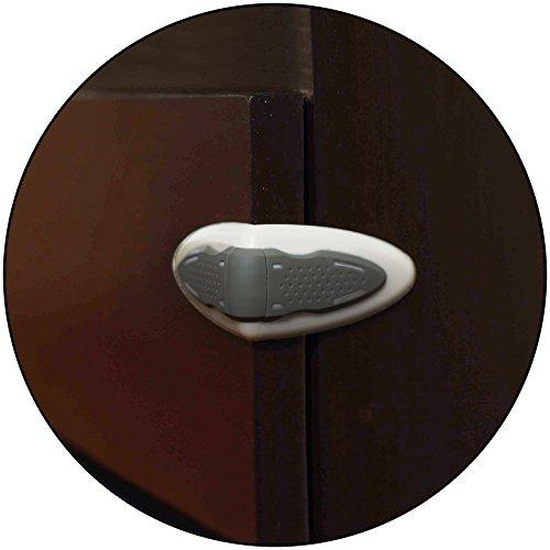 Safe-O-Kid 100% Kid Safe Drawer Lock (White)