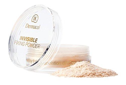 dermacol Invisible Fixing Powder Natural Puder/Make-up, 1 Stück