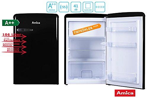 Mini Kühlschrank Vintage : ▷ retro kühlschrank schwarz vergleich und kaufberatung u die