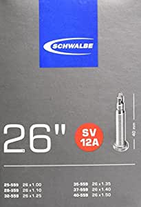 Schwalbe chambre air pour v lo sports et loisirs - Chambre a air velo taille ...