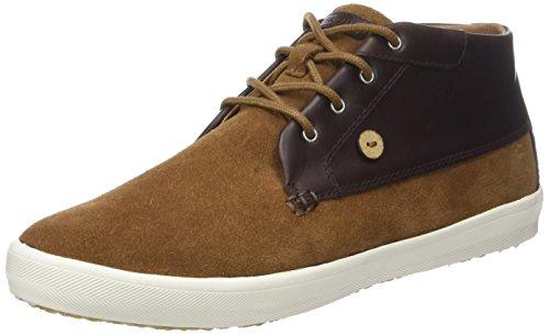 Faguo Wattle, Sneaker a Collo Alto Unisex – Adulto Marron (Nutmeg/Ebony)