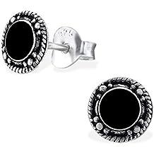 Ohrringe schwarz  Suchergebnis auf Amazon.de für: ohrstecker schwarz rund
