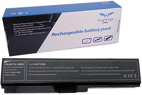 FengWings 10.8V 4400mAh PA3817U-1BRS Batteria del computer portatile Compatibile con TOSHIBA Satellite A660 / C600D / C645D / C650 / C655 / C660 / L600 / L670 ; Pro C650 (A celle)