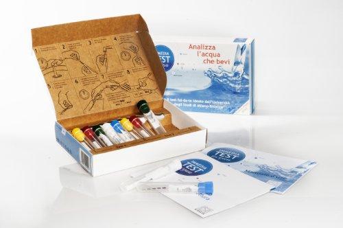 Fem2 Ambiente (Università Milano Bicocca) - IMMEDIATEST DOPPIO - 2 Kit Monouso Analisi Qualità Acqua Domestica