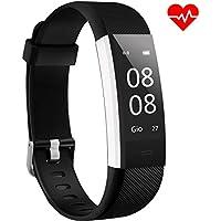 Fitness Tracker ANEKEN Activity Tracker Orologio Bracciale Fitness Cardiofrequenzimetro da Polso Contapassi Impermeabile IP67 con Monitoraggio del Sonno Notifiche Chiamate e SMS per iOS e Android