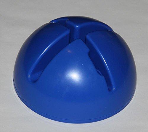 Agility Hundesport - X-Standfuß für Stangen und Reifen, Farbe: blau