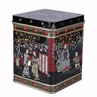 Buzz Boîte à thé en métal Style japonais classique Hauteur 11cm Capacité 225 g