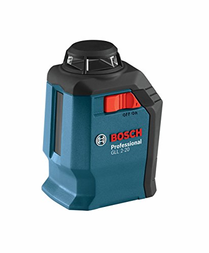 Bosch GLL 2-20 360-Degree Self-Leveling Line and Cross Laser by BOSCH (Self-leveling Laser-line)