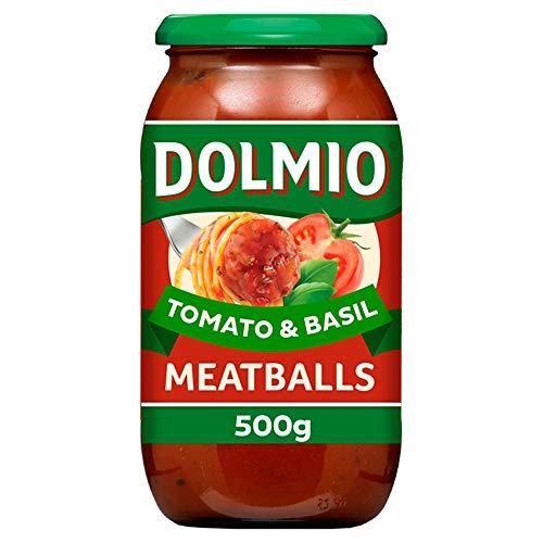 Dolmio Meatballs Tomato and Basil Pasta Sauce, 500g