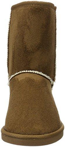 Canadians - Boots, Stivali a metà gamba con imbottitura pesante Donna Marrone (Braun (370 TOBACCO))