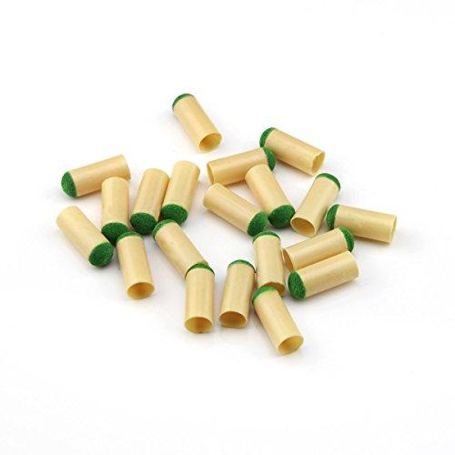 Billardqueue-Spitzen, 10mm, aus Kunststoff, für Pool Billard, zum Aufstecken, 20Stück