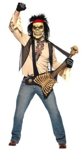 Halloweenkostüm Kostüm für Halloween Zombie Rocker Zombiekostüm Gr. 48/50 (M), 52/54 (L), Größe:M