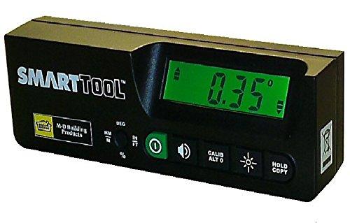 SmartTool stm-pro digitalem Neigungsmesser 0,05° HighResolution: NEU Profi Modell. Maßnahmen Neigungen durch 360°,% Piste & mm/M Pitch -