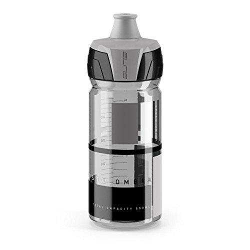 Elite Crystalombra Trinkflasche, Smoke-Grau, 550 ml