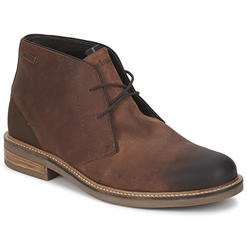 mens-barbour-redhead-chukka-smart-tan-office-leather-shoes-ankle-boots-tan-9