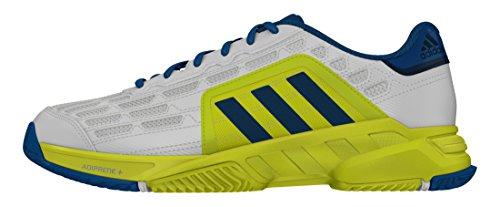 adidas Barricade Court 2, Scarpe da Tennis Uomo Bianco (Blanco (Ftwbla / Acetec / Limsho))