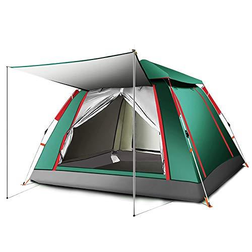HSJLH Automatische Zelte, Outdoor-Regen Geschwindigkeit offen Renhou Februar 03 bis 04 Einzel Camping Zelten,215 * 215 * 142cm