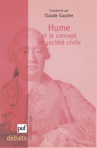 Hume et le concept de la société civile