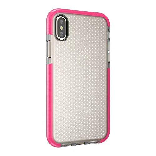 Hosaire 1x Handyhülle Schalen für Apple iphone X Phone Case Neue Apple Telefon Fall Schutzhülle Phone Back Cover Shell Rose