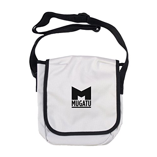 Arcane Store , Herren Schultertasche White (with black edging)