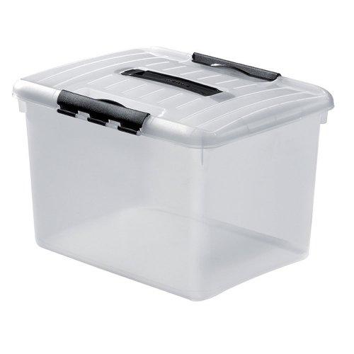 Curver Multibox Optima mit Deckel, 27L, 42,8x34 cm, Aufbewahrungsbox
