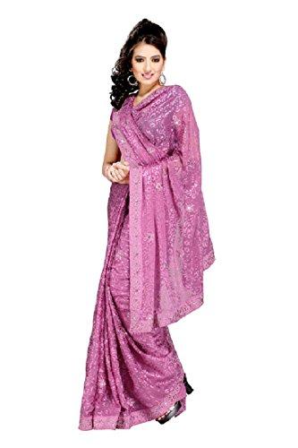 Setu Brasso Saree (581-D_Dusty Pink)