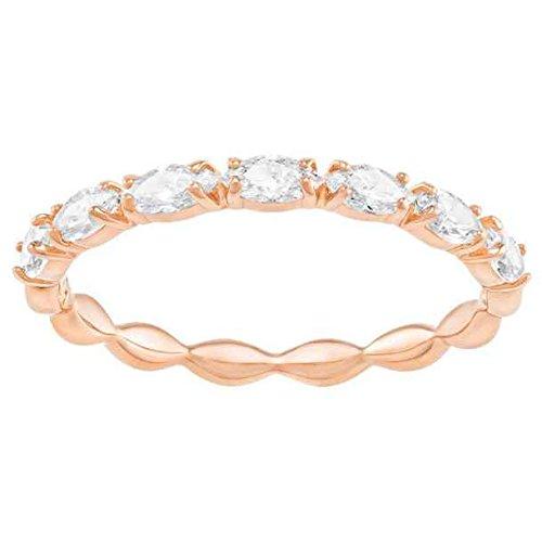Swarovski Damen-Ringe Edelstahl Kristall '- Ringgröße 60 5366571 -