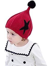 ODJOY-FAN-bambino inverno Pentagramma stampa Cappello lavorato a maglia  caldo-Ragazzi berretto 3a86f89cef3d