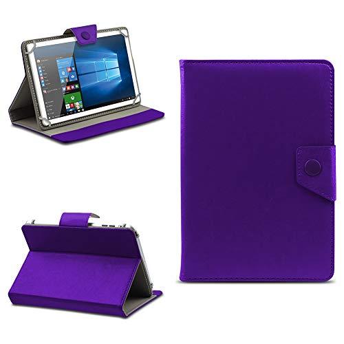 na-commerce Telekom Puls Tablet Hülle Tasche Schutzhülle Case Schutz Cover Stand 8 Zoll Etui, Farben:Lila