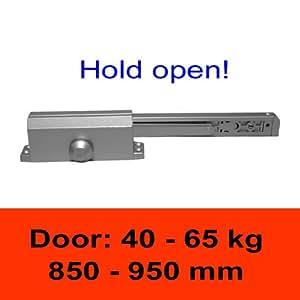 TÖSCH TS603G - Türschliesser mit Gleitarm, mit Türfeststellung, Türgewicht: 40-65 kg / empfohlene Türbreite: 850-950 mm