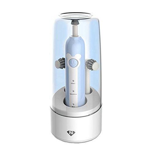 PANGUN Loskii Ny-512 USB-Akku-Doppelkopf Tief Sauber Erwachsene Intelligente Elektrische Zahnbürste Haushalt-7-14Y-Blau
