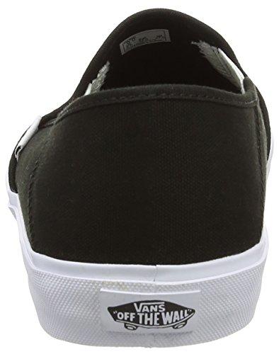 Vans Slip-on Sf Scarpe da Ginnastica Basse, Uomo Nero (black/white)