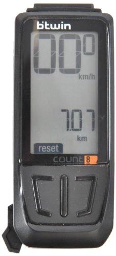 btwin bike-computer-count-8 computer, adult (black) Btwin Bike-Computer-Count-8 Computer, Adult (Black) 416G EOqOjL