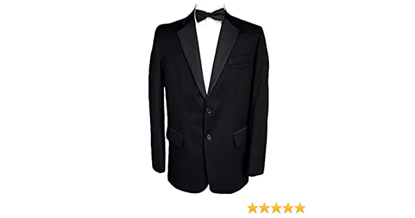 "Finest Barathea Wool Single Breasted Dinner Jacket 38/"" Long"