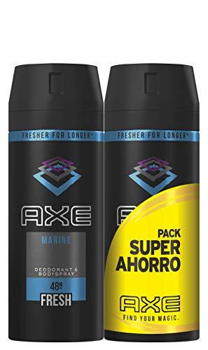 AXE Marine, Desodorante - 2 150 ml. Total: 300 ml