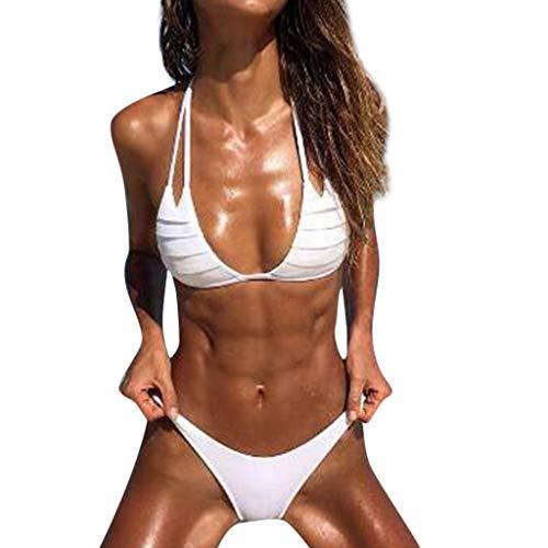 Push-up Damenbekleidung Tops Bad Bikini-Badeanzug Gefüllt Halter-Frauen-Badeanzug Push-up-Bikini- Frauen mit hohen Taille Sportbekleidung Bikini Sexy Frau Badeten Frauen Swimsuit swimanzug Swimwear (Ninja Gefüllte Turtle)