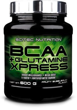 Scitec Nutrition Acides Aminés BCAA + Glutamine Xpress Pomme 600 g