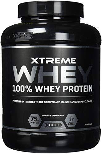 Xcore Xtreme 100% Whey Protein Powder 2kg - Aumenta el Crecimiento y...