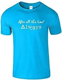 After All This Time Nouveau hommes T-shirt Harry Potter Top Tée