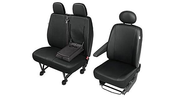 Sitzbezüge Schonbezüge Ford Transit Custom ab 2014 für Fahrersitz und Doppelbank