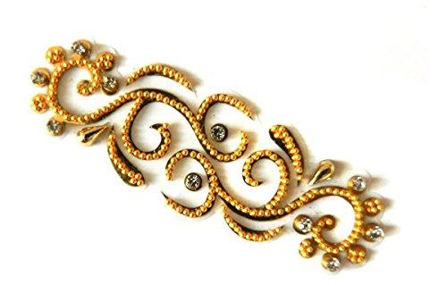 Teeliya® » 1 x Tatouage Autocollants ✮ Chic ✮ Bijoux corporels ✮ Temporaire ✮ Réutilisable ✮ Accessoires de mariage et de fête