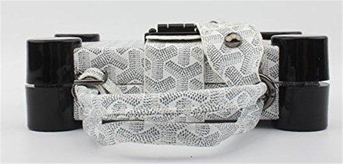 Good Night Donne Elegante Perlage modello quadrato di frizione della borsa da sera bianca