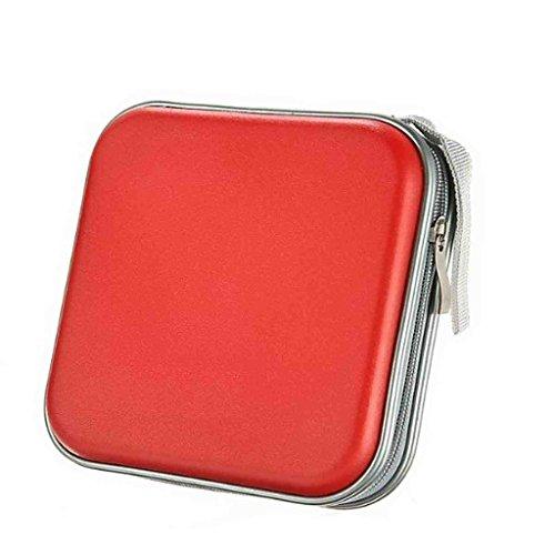 hangqir-40-disc-cd-dvd-portable-storage-case-wallet-hard-box-bag-holderred