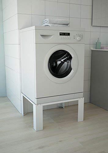 respekta Waschmaschinenerhöhung Waschmaschinen Untergestell Sockel 2435035 weiß