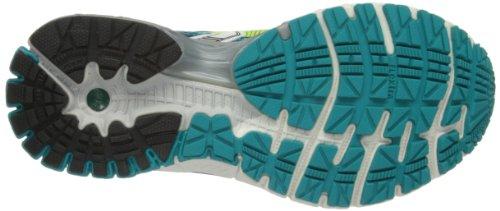Brooks Adrenaline GTS 14 W Damen Laufschuhe Mehrfarbig (Caribbean/Nightlife/White)